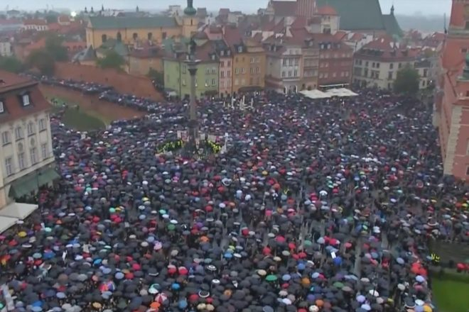 Protests condemn Polish abortion bill