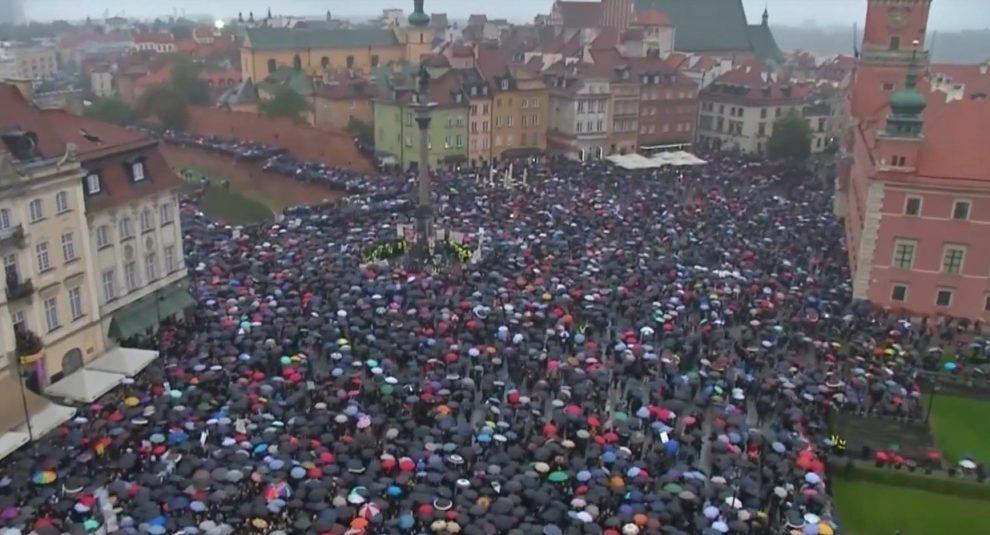 Protests condemn Polish abortion bill