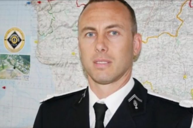 France honours slain officer