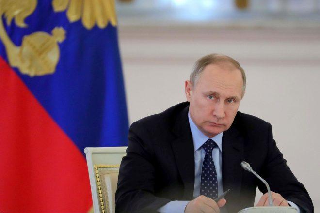 Election triomphale pour Vladimir Poutine