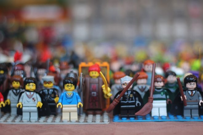 Lego profits slump amid excess stock