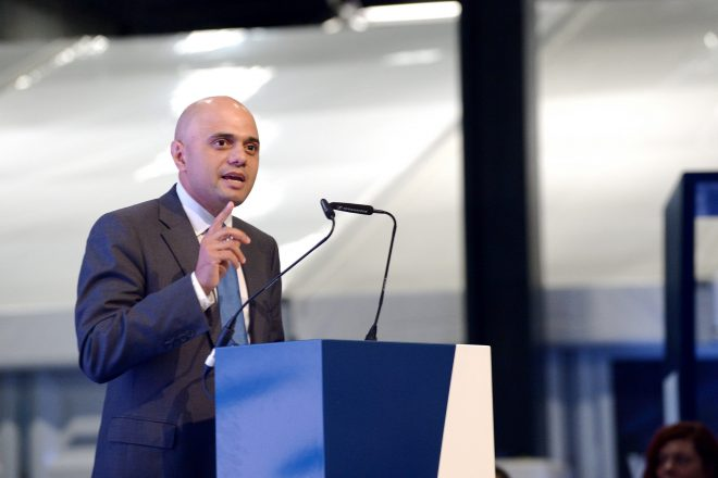 Javid replaces Rudd as UK home secretary