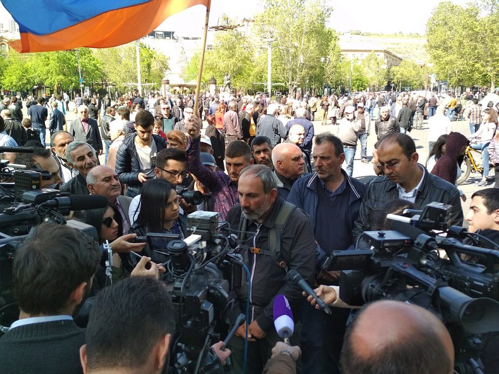 Vers le chaos en Arménie ?