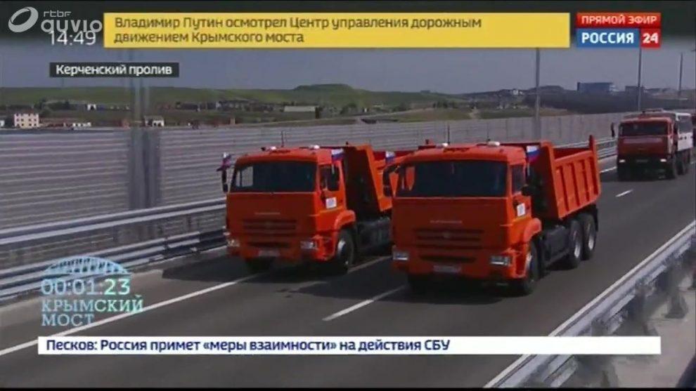 Crimée : inauguration du pont de la discorde