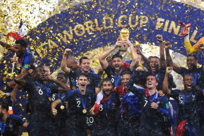 La France est championne du monde de football
