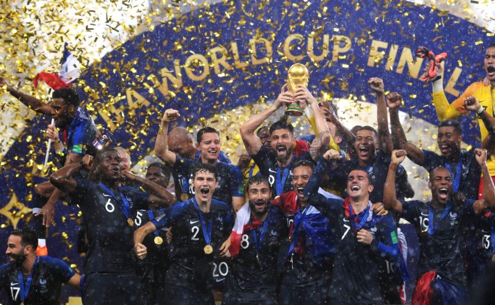 La France est championne du monde de football