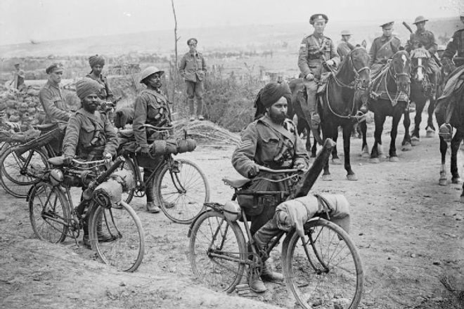 WWI Indian troops 'denied' shell-shock care