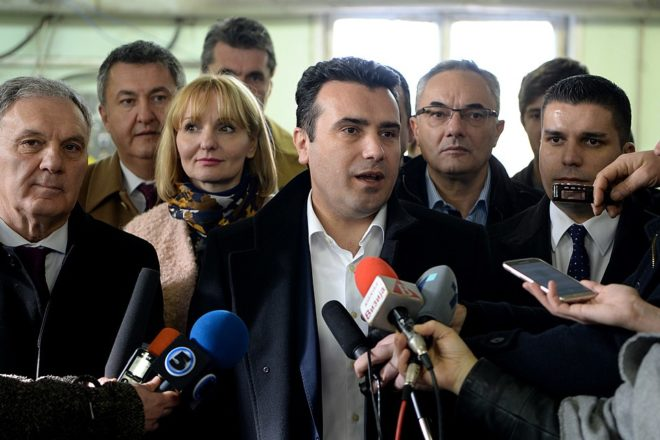 Zaev fights on despite Macedonia name-change blow
