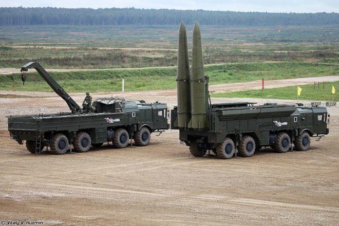 Russia, Germany condemn Trump arms treaty threat