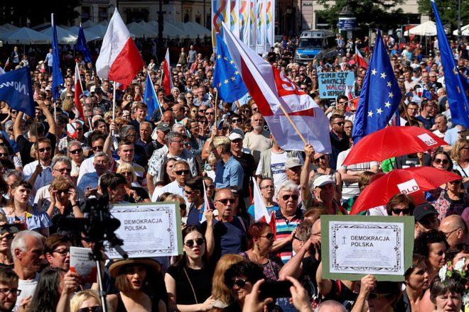 EU's top court: Poland must reverse legal changes