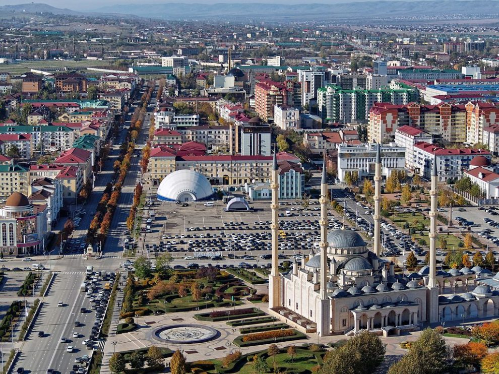 Chechnya suicide attack video released