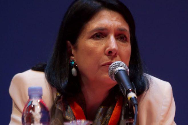 L'opposition géorgienne dénonce une élection présidentielle truquée