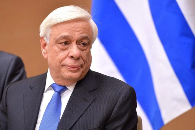 Greek president faces protest over Macedonia deal