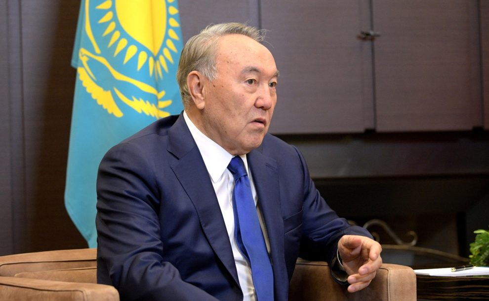 Kazakhstan president steps down after 29 years