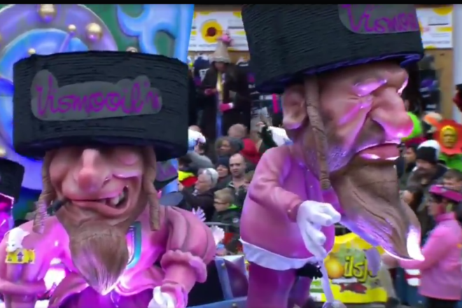 EU tells Belgium to act over anti-Semitic carnival float