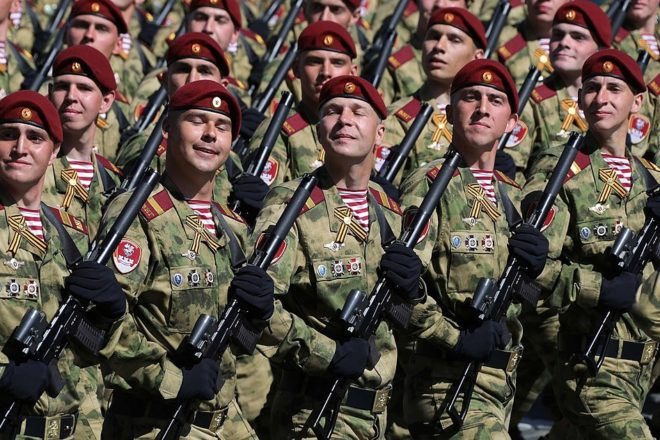 Russia unveils western military shakeup