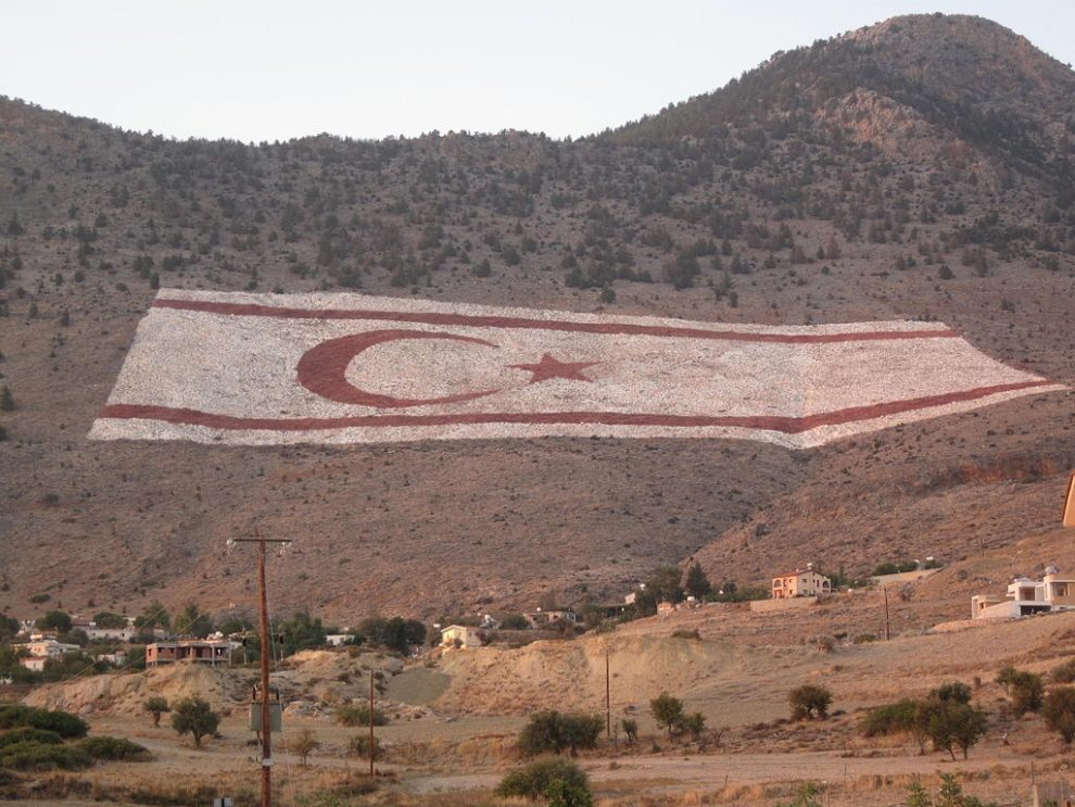Turkey angers Greece with territorial claim and flag stunt