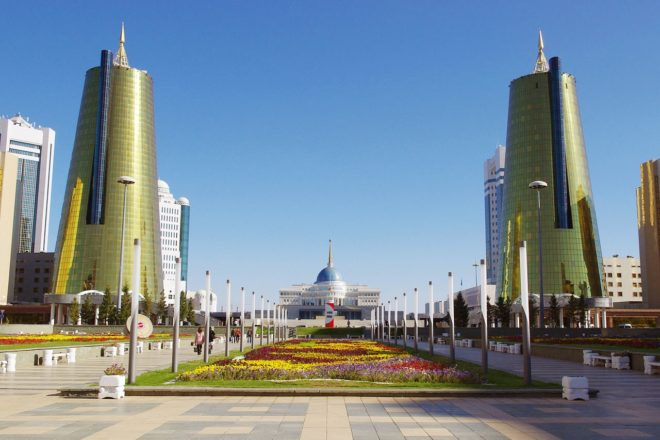 Kazakhstan renames capital after outgoing president