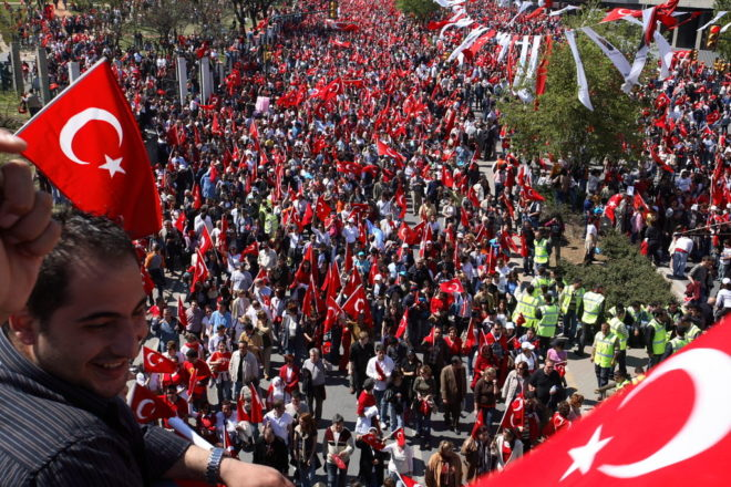 Erdogan humbled in three largest cities