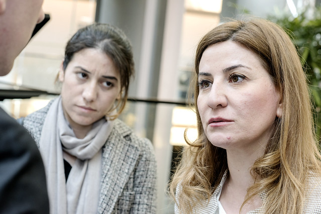 For Yazidi women, home is a long time coming