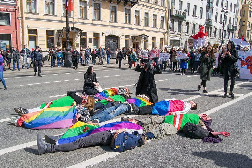 Raiders target Chechen LGBT activist