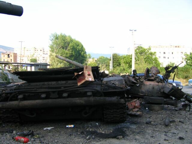 Georgian police take back control of parliament