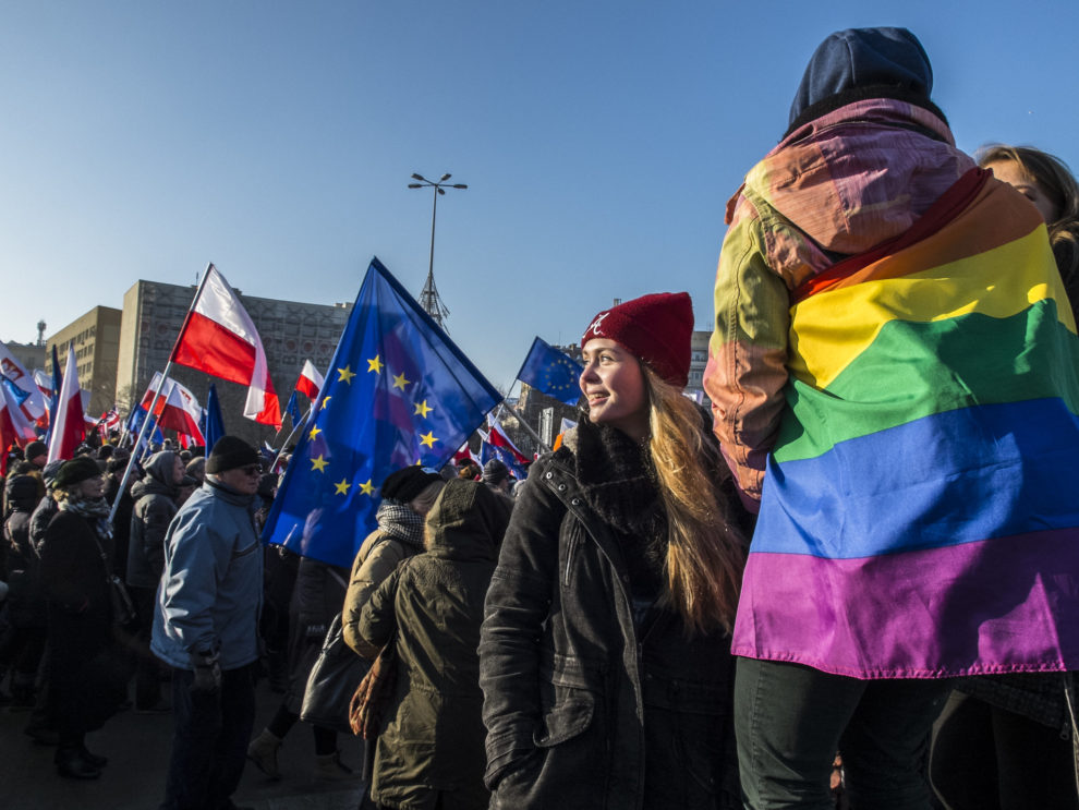 PiS accused of targeting LGBT communities