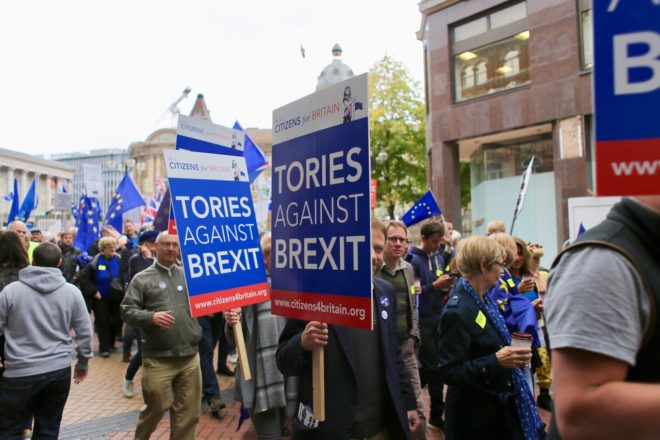 Remainer Tories move to block future PM forcing through hard Brexit