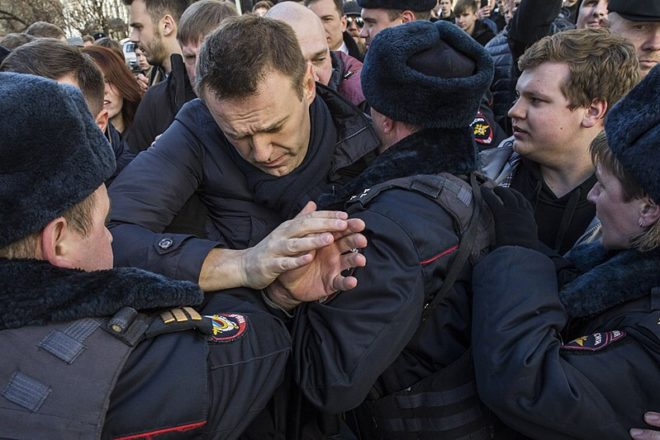 Navalny in hospital after 'exposure to chemical'