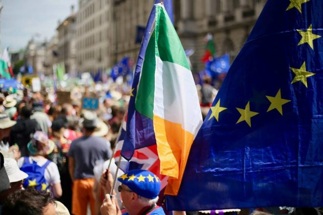 Northern Ireland poll slightly backs Irish unity