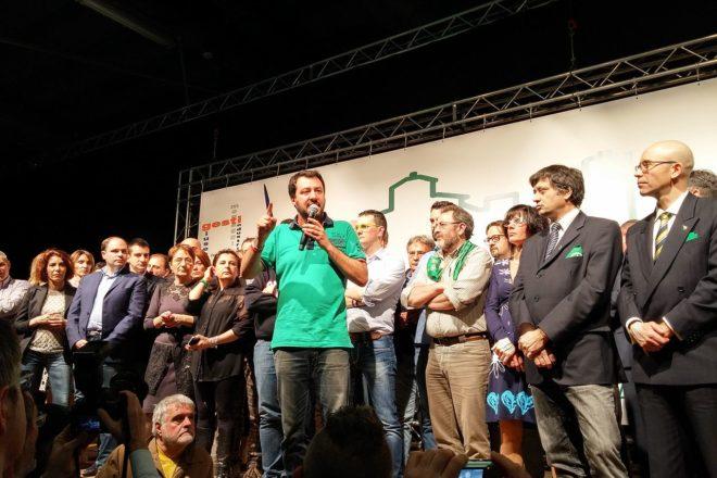 Démonstration de force de Salvini à Rome