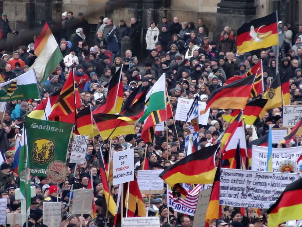 Germany's Pegida faces counter protest in Dresden