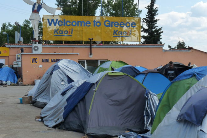 Greek migrant camps facing 'catastrophe': envoy