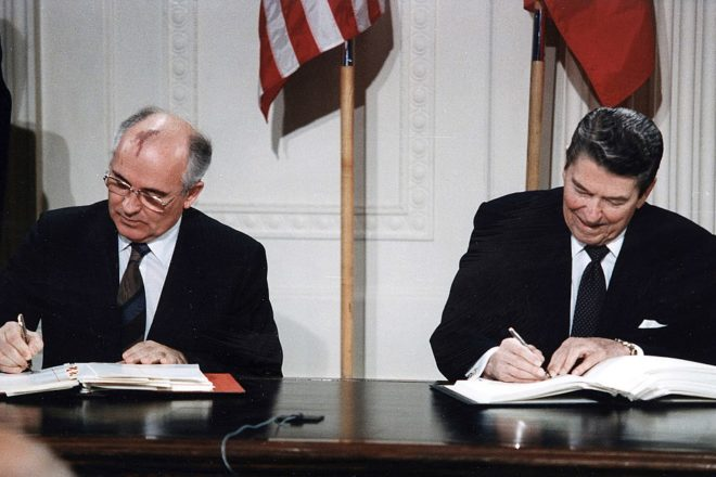 Gorbachev warns of failure of nuclear ban