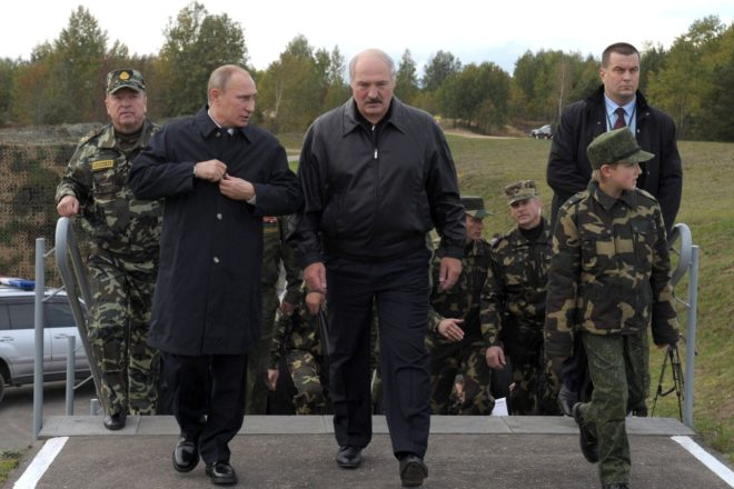 Russian annexation would spark Nato war: Lukashenko