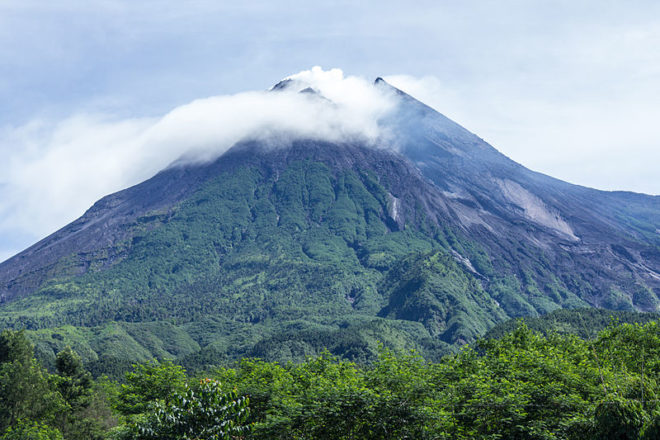 Éruption du plus actif volcan d'Indonésie