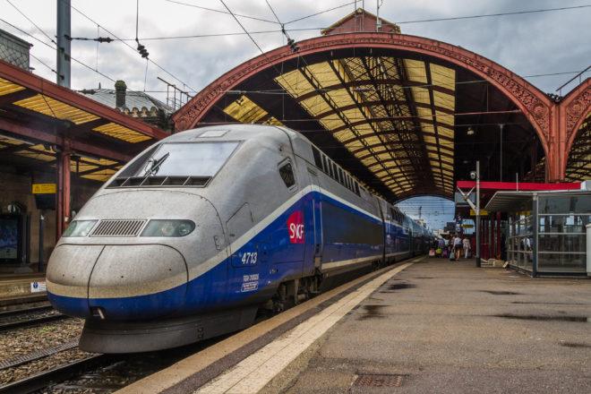 Déraillement d'un TGV près de Strasbourg