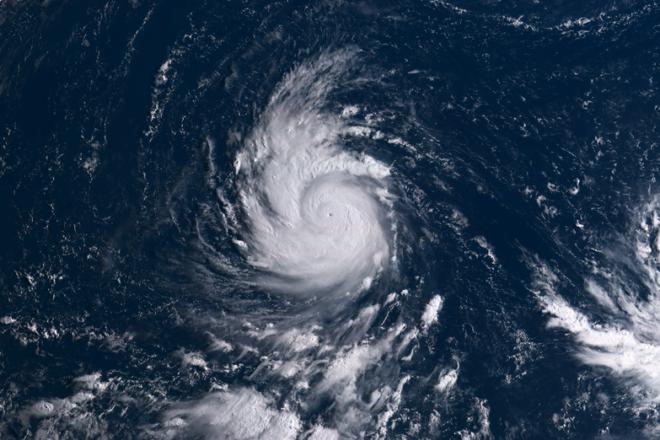 Le typhon Goni touche les Philippines