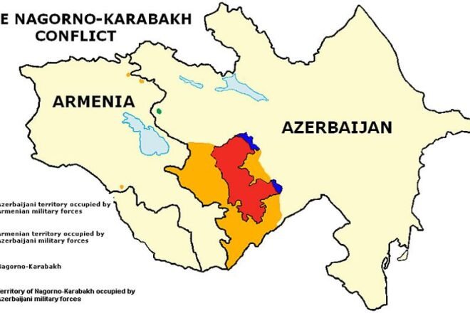 Discussion de l'accord du Karabakh