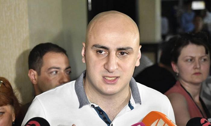 Les Géorgiens protestent contre la détention du chef de l'opposition